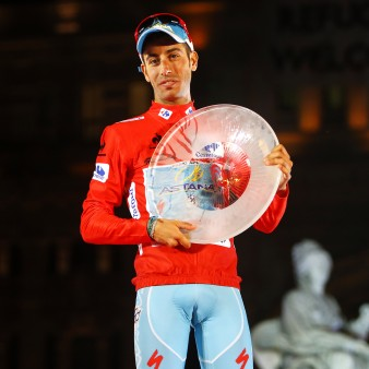 Vuelta Spagna 2015 - 70a Edizione - 21a tappa Alcala de Henares - Madrid 98.8 km - 13/09/2015 - Fabio Aru (Astana) - foto Luca Bettini/BettiniPhoto©2015