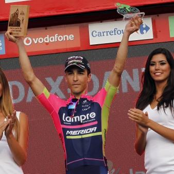 Vuelta Spagna 2016 - 13a tappa Bilbao - Urdax 213.4 km - 02/09/2016 - Valerio Conti (Lampre - Merida) - foto Sabine Jacob/CV/BettiniPhoto©2016